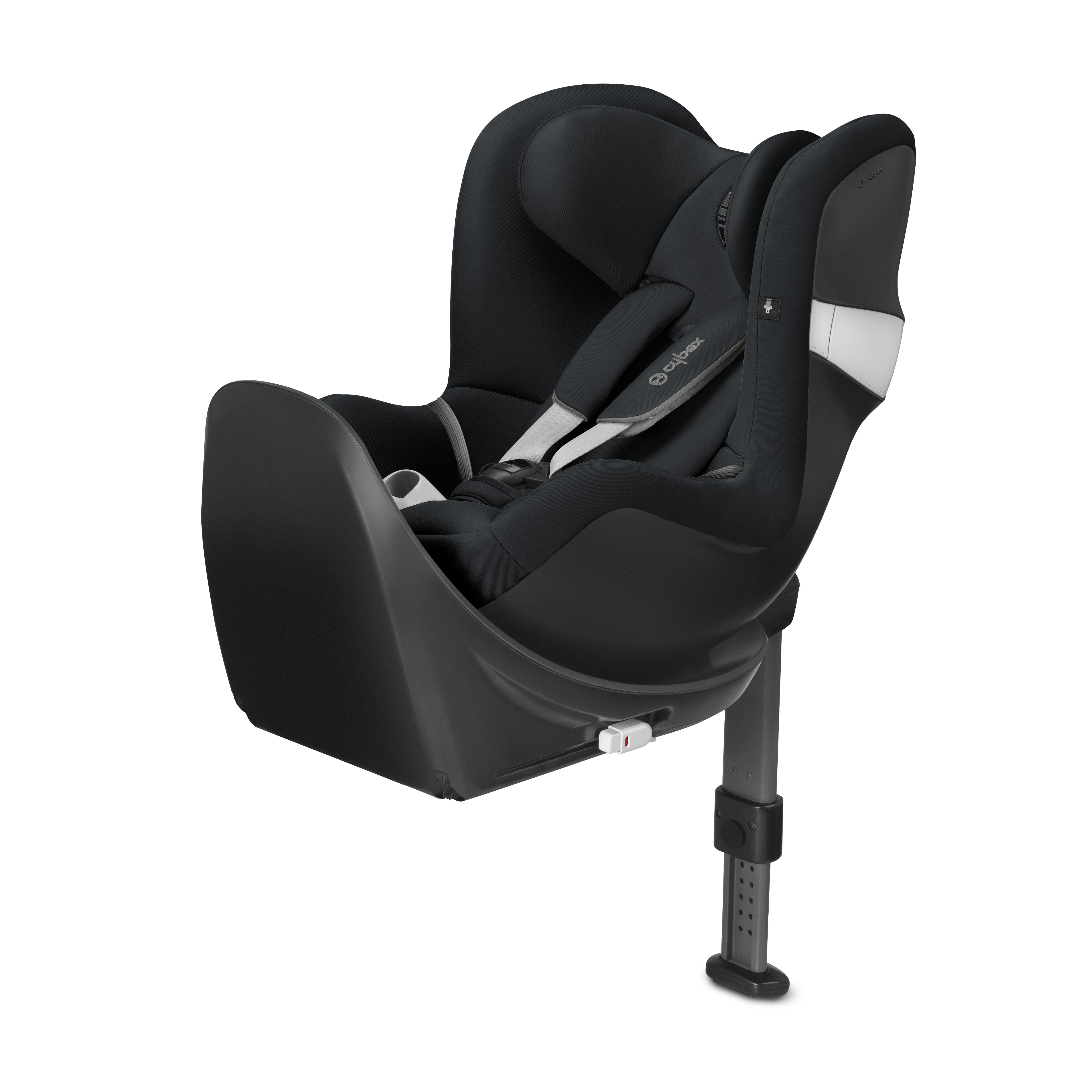 Автокресло Cybex Sirona M2 i-Size и база Base M Lavastone Black, цвет: черный
