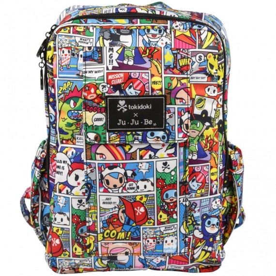 Рюкзак для мамы Ju-Ju-Be Mini Be Tokidoki Super TokiСумки<br>Рюкзак для мамы Ju-Ju-Be Mini Be Tokidoki Super Toki<br>