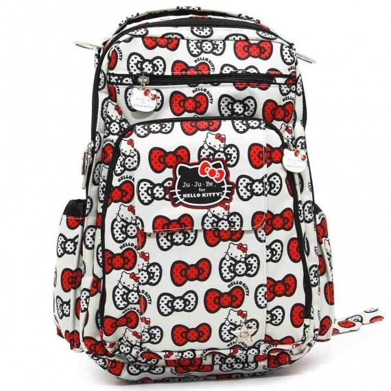Рюкзак для мамы Ju-Ju-Be Be Right Back Hello Kitty Peek a BowСумки<br>Рюкзак для мамы Ju-Ju-Be Be Right Back Hello Kitty Peek a Bow<br>