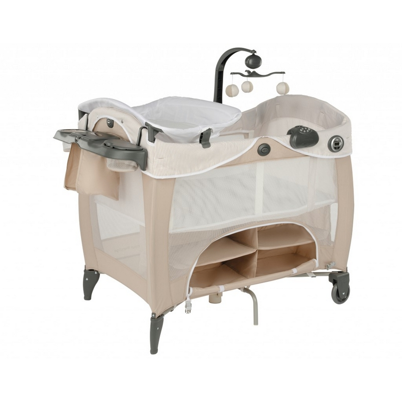 Манеж-кроватка Graco Contour Prestige Benny and Bell