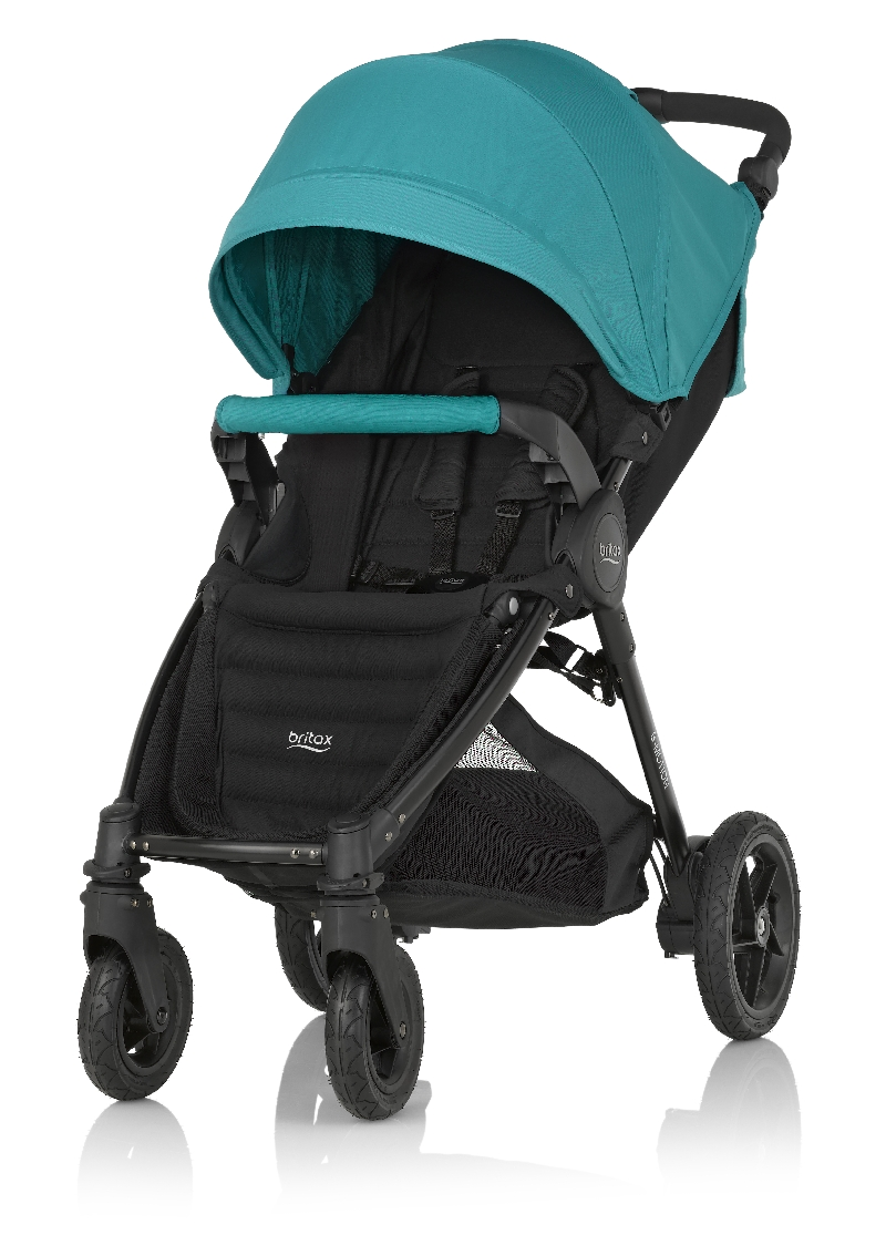 Коляска Britax B-Motion 4 Plus Lagoon GreenПрогулочные коляски<br>Коляска Britax B-Motion 4 Plus Lagoon Green<br>