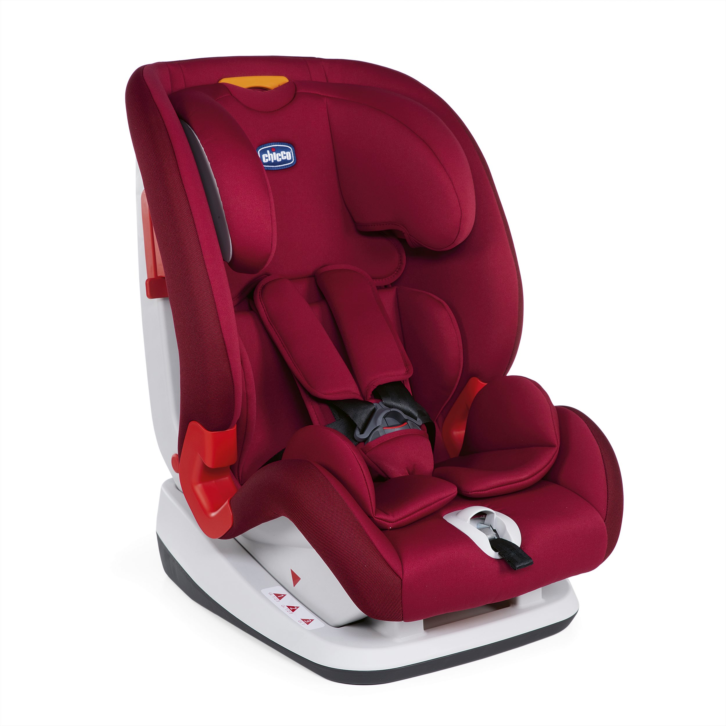 Автокресло Chicco YOUNIVERSE STANDARD RED PASSION, красный