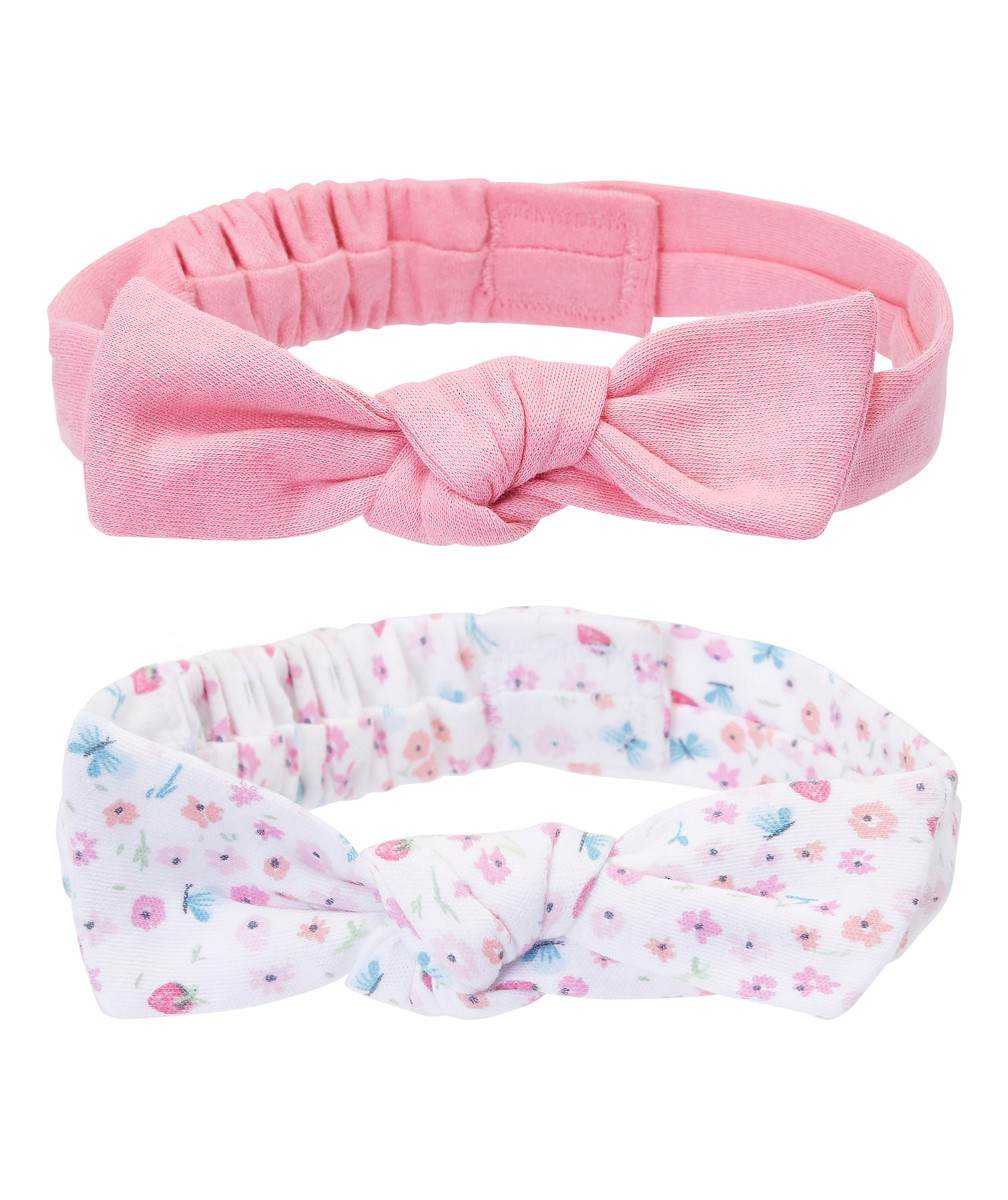 NOT AVAILABLEАксессуары<br>NB WB 2PK BOW HAIRBAND DITSY AND SOLID<br>