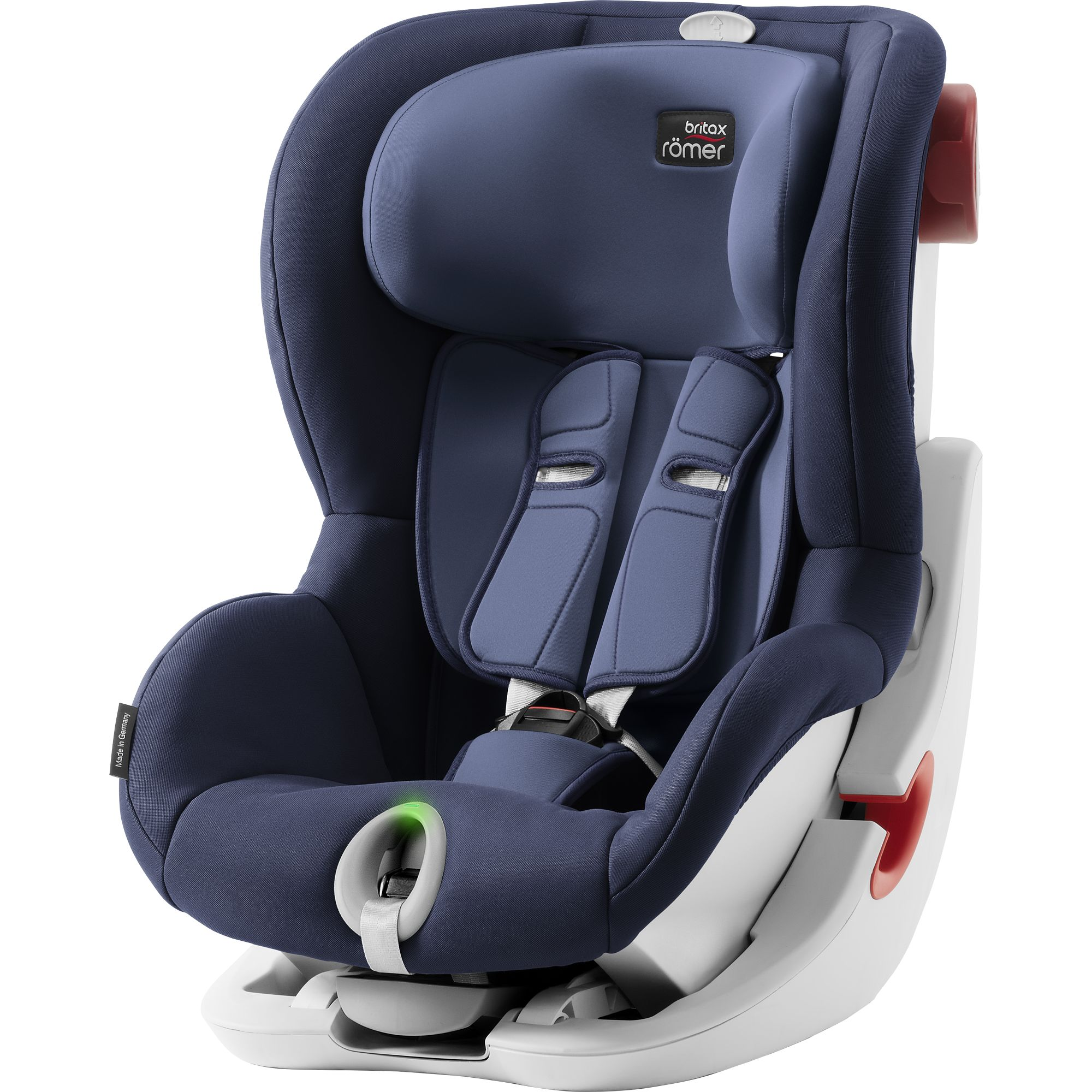 Детское автокресло Britax Roemer King II LS Moonlight Blue Trendline, синий