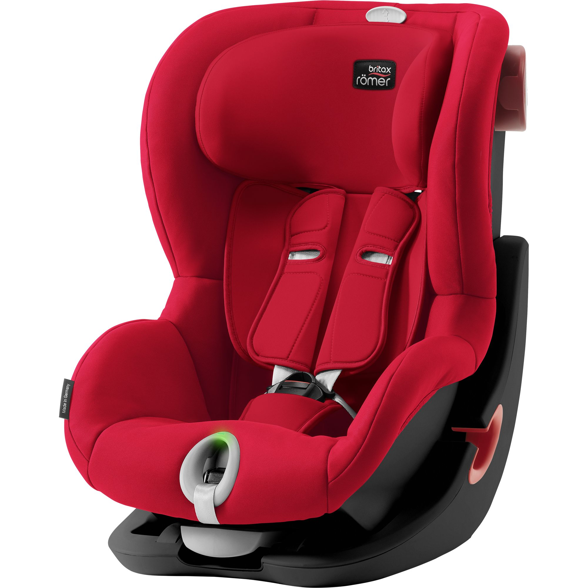 Детское автокресло Britax Roemer King II LS Black Series Fire Red Trendline, красный