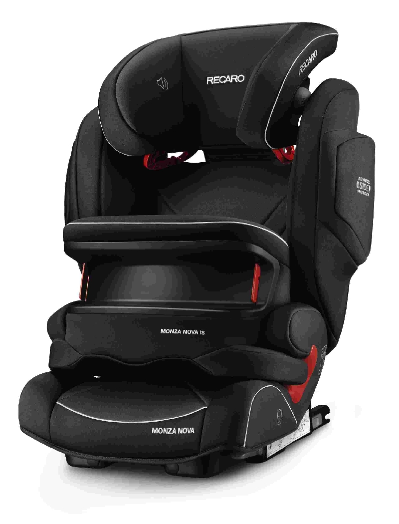 Автокресло RECARO Monza Nova IS Seatfix Perfomance Black, цвет серый