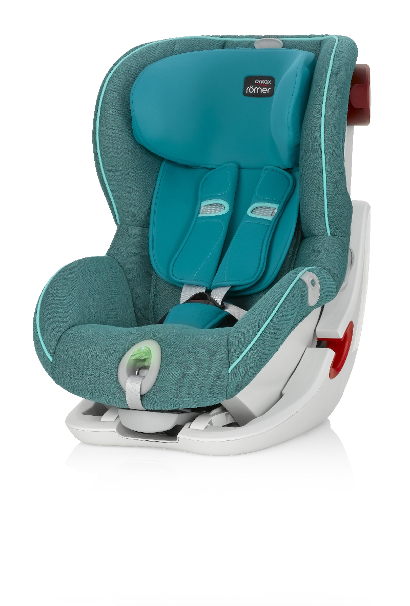 Купить Детское автокресло Britax Römer King II ATS Green Marble Highline, Mothercare