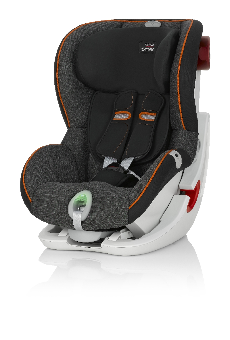 Купить Детское автокресло Britax Römer King II ATS Black Marble Highline, Mothercare
