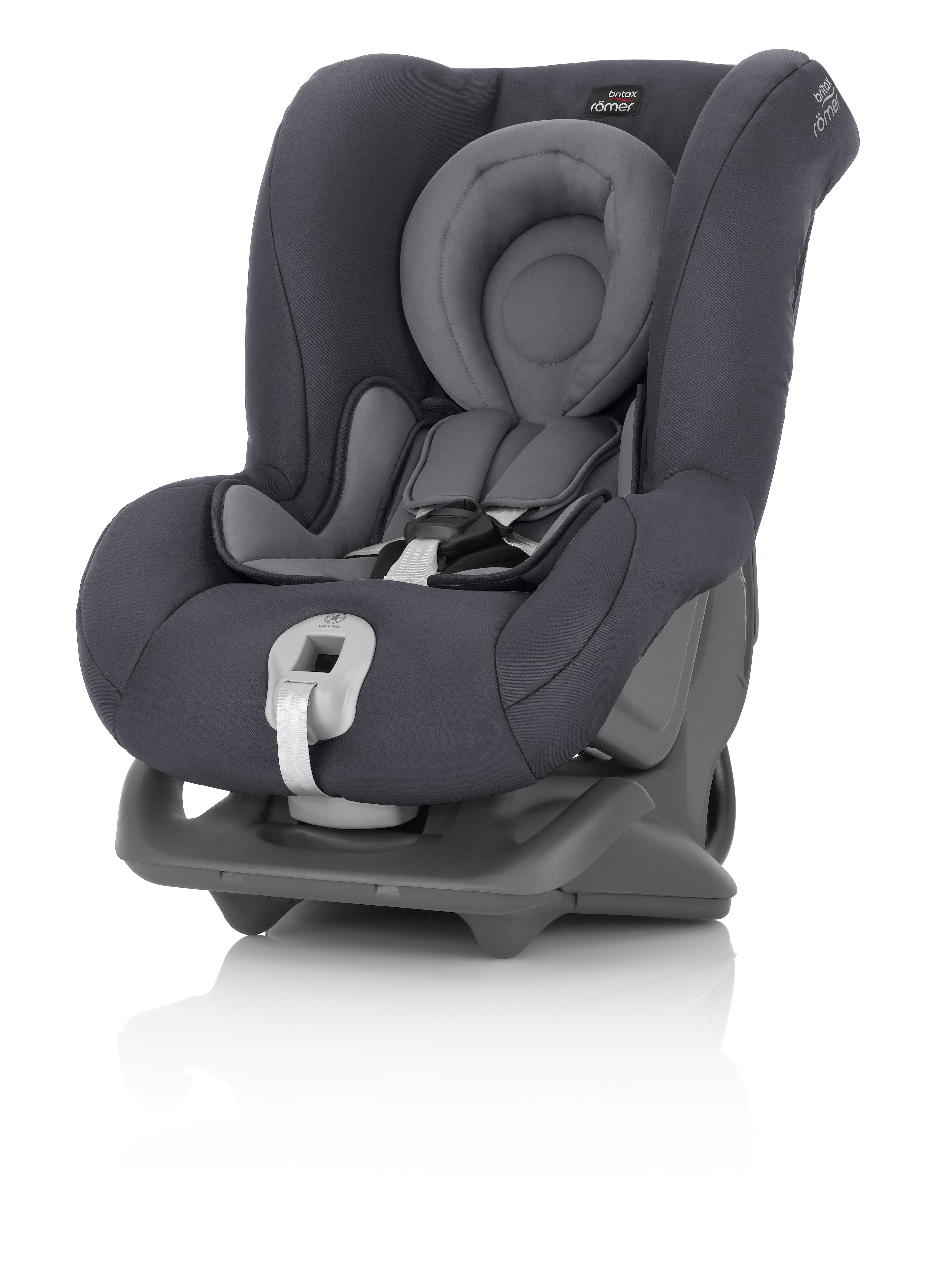 Автокресло Britax Roemer First Class Plus Storm Grey Trendline, цвет: серый