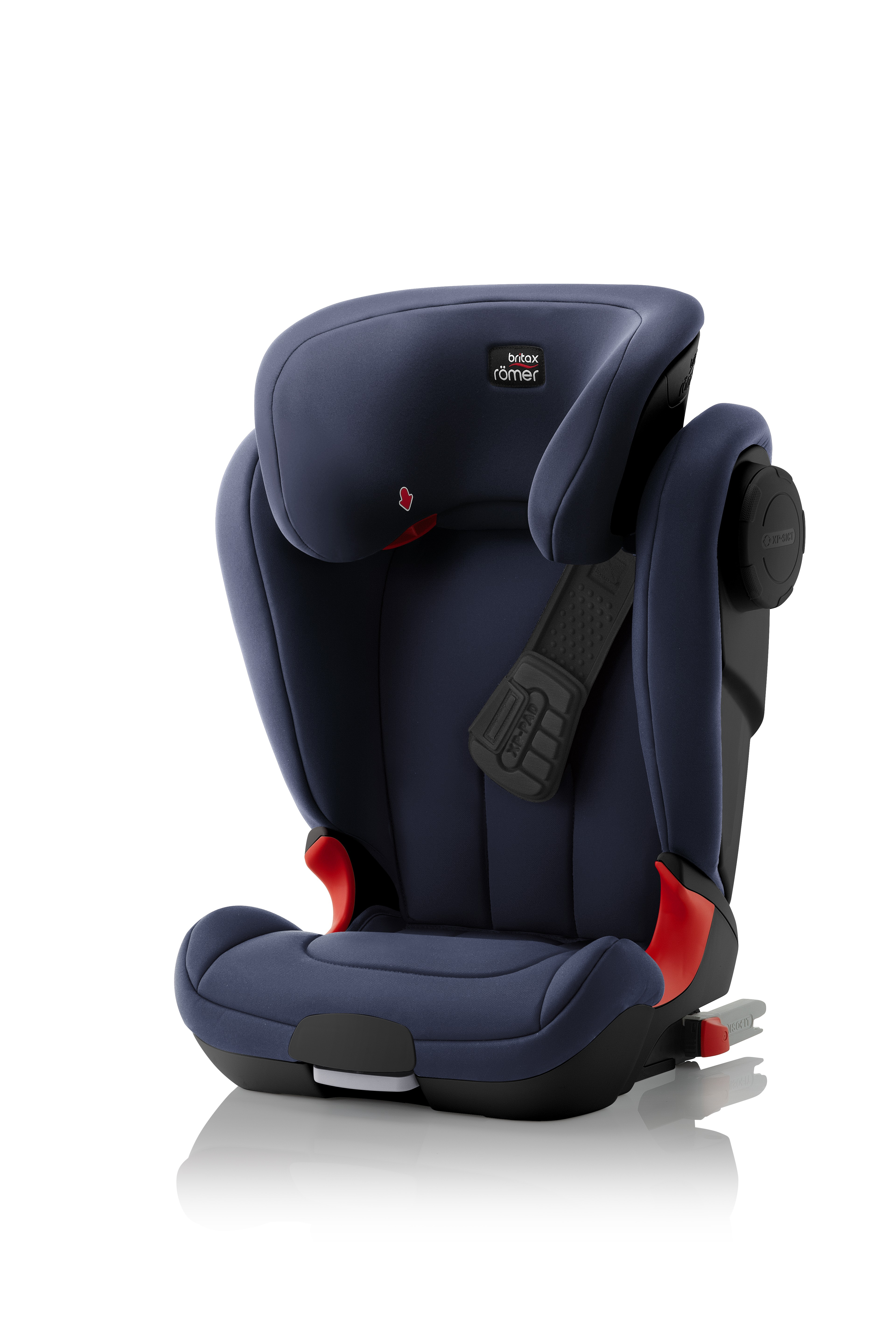 Автокресло Britax Roemer Kidfix XP SICT Black Series Moonlight Blue Trendline, цвет: синийBritax R?mer <br>Автокресло Britax Roemer Kidfix XP SICT Black Series Moonlight Blue Trendline, цвет: синий<br>