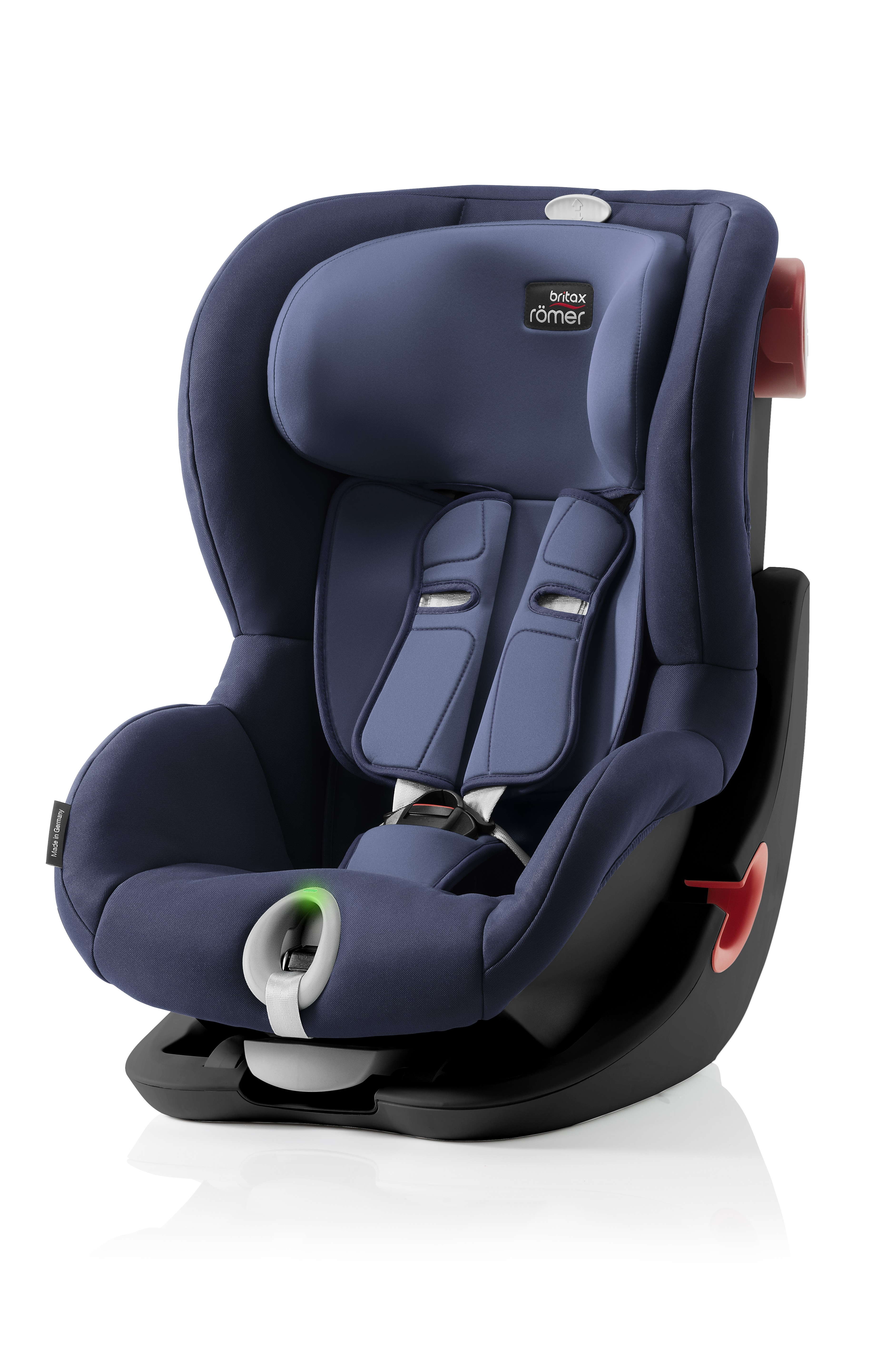 Автокресло Britax Roemer King II LS Black Series Moonlight Blue Trendline, цвет: синийBritax R?mer <br>Автокресло Britax Roemer King II LS Black Series Moonlight Blue Trendline, цвет: синий<br>