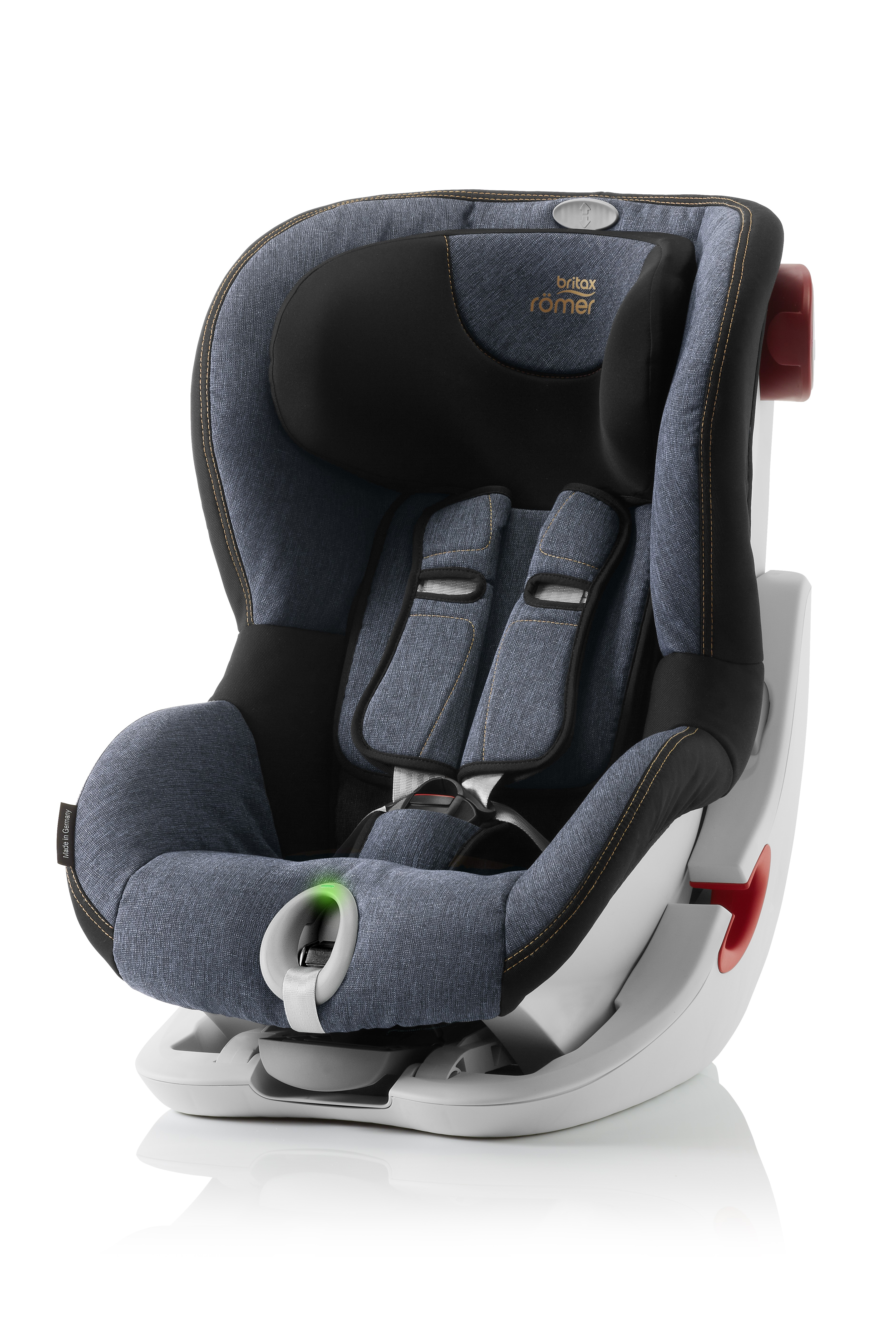 Автокресло Britax Roemer King II LS Blue Marble Highline, цвет: синийBritax R?mer <br>Автокресло Britax Roemer King II LS Blue Marble Highline, цвет: синий<br>