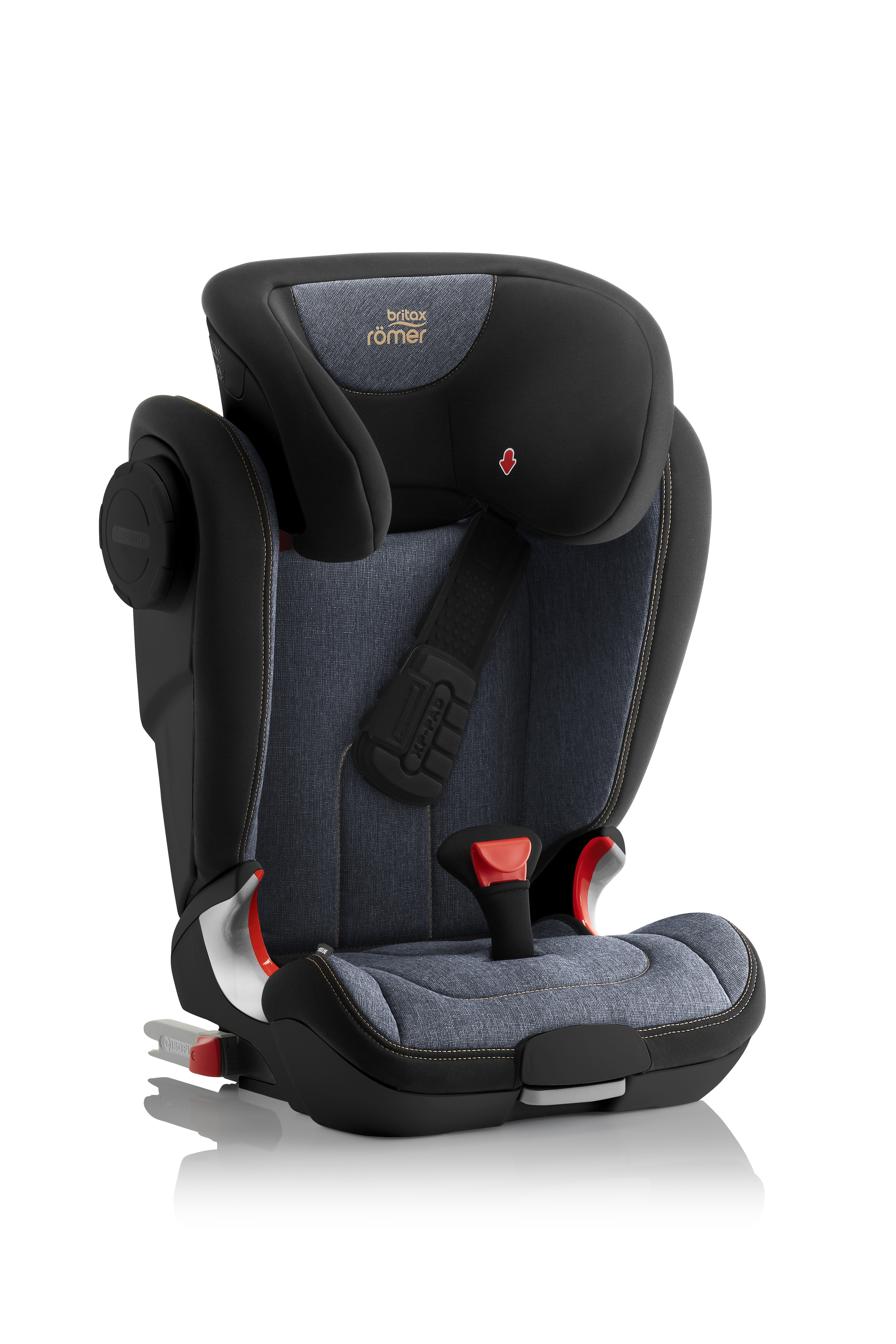 Автокресло Britax Roemer Kidfix II XP SICT Black Series Blue Marble Highline, цвет: синийBritax R?mer <br>Автокресло Britax Roemer Kidfix II XP SICT Black Series Blue Marble Highline, цвет: синий