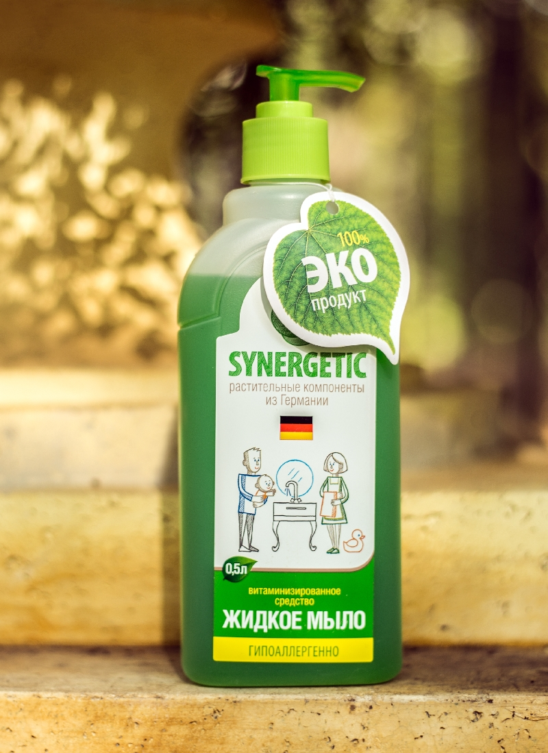 Жидкое мыло Synergetic 025лМоющие средства<br>Жидкое мыло Synergetic 025л<br>