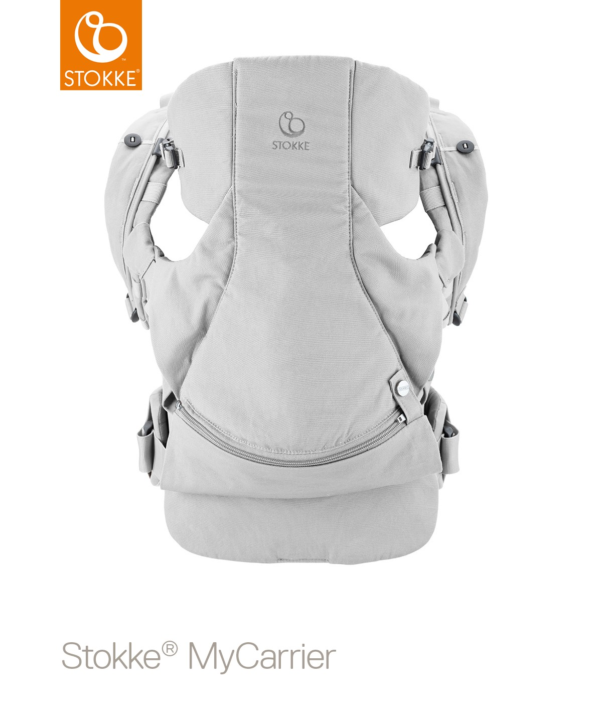 Рюкзак-переноска 3-в-1 Stokke MyCarrier Grey, цвет: серый