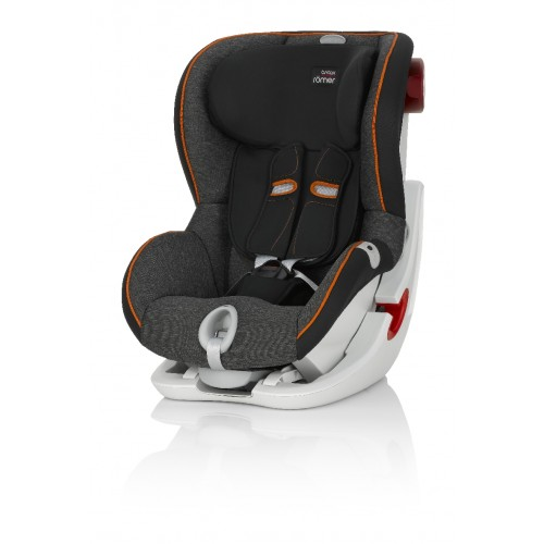 Детское автокресло Britax Römer King II LS Black Marble Highline