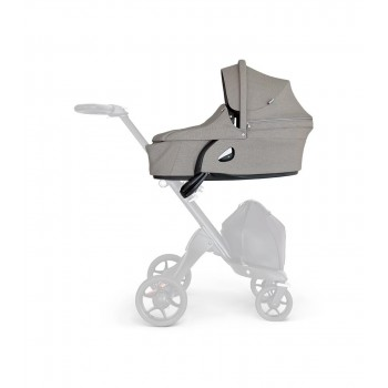 Люлька Stokke Xplory V6 Brushed Grey, серый