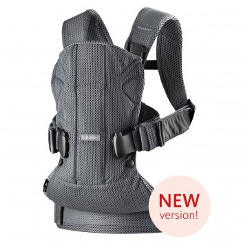 Рюкзак-переноска Babybjorn One Air Mesh Anthracite, цвет Антрацит