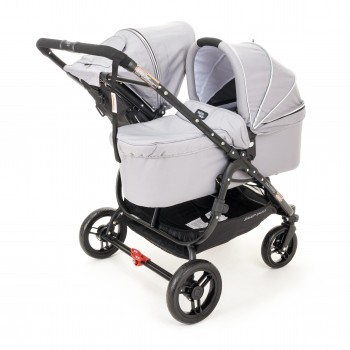 Люлька Valco baby External Bassinet  для Snap Duo Cool Grey, серый