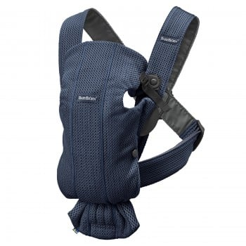 Рюкзак-переноска BabyBjorn Baby Carrier Mini, Navy Blue, 3D Mesh, синий