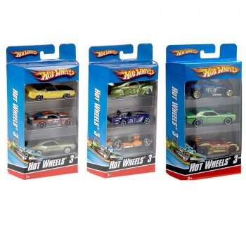 Коллекция автомобилей Hot Wheels из 3 машинок