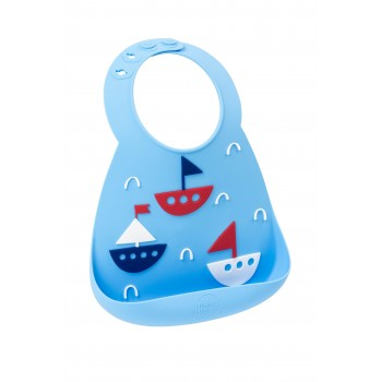 Нагрудник MAKE MY DAY Baby Bib - Boats
