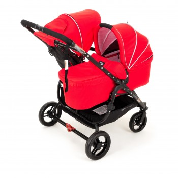 Люлька Valco baby External Bassinet для Snap Duo Fire red, красный