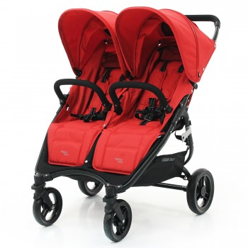 Коляска для двойни Valco baby Snap Duo Fire red, красный