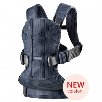 Рюкзак-переноска Babybjorn One Air Mesh Navy Blue, темно-синий