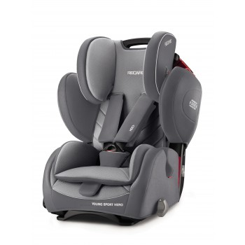 Автокресло Recaro Young Sport Hero, Aluminium Grey, серый фото