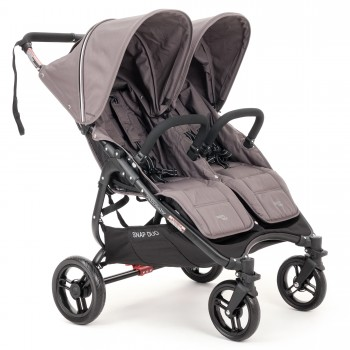 Коляска для двойни Valco baby Snap Duo Dove Grey, тёмно-серый