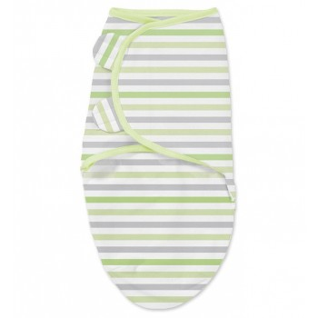 Summer Infant Конверт на липучке Summer Infant Swaddleme Stripes,  S-M, цвет: многоцветный