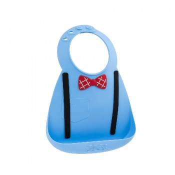 Нагрудник MAKE MY DAY Baby Bib Scholar Blue, цвет голубой