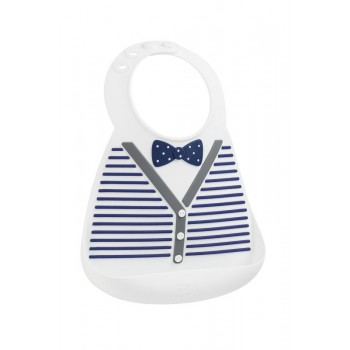 Нагрудник MAKE MY DAY Baby Bib - Little gentleman