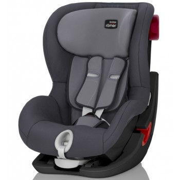 Купить Автокресло Britax Roemer King II Black Series Storm Grey Trendline, серый, Britax Romer
