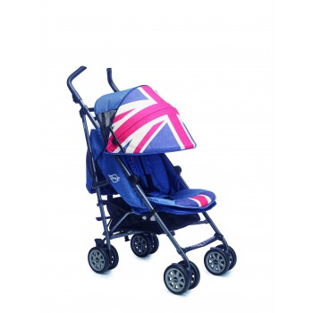 Коляска прогулочная MINI by Easywalker buggy XL Union Jack Vintage, британский флаг