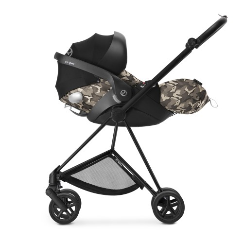 Автокресло Cybex Cloud Q Butterfly, черный