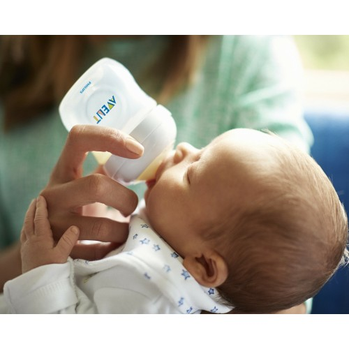 Бутылочка Philips Avent Natural, 0 мес+, 125 мл