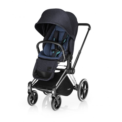 Прогулочный блок Cybex LUX для коляски Priam True Blue, цвет: темно-синий