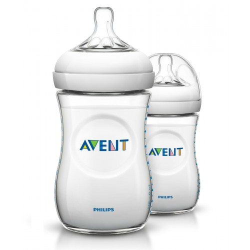 Бутылочки Philips Avent Natural, от 1 мес., 260 мл, 2 шт.
